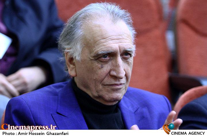 احمد نجفی در مراسم اختتامیه یازدهمین جشنواره بینالمللی فیلمهای ورزشی
