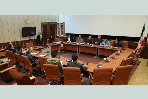 جلسه هماهنگی مدیران سینماهای جشنواره ملی فیلم فجر