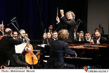 اجرای ارکستر سمفونیک تهران در سی و سومین جشنواره موسیقی فجر
