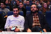 محمدرضا شفاه و حسین دارابی در رونمایی از منشور مستند انقلاب اسلامی