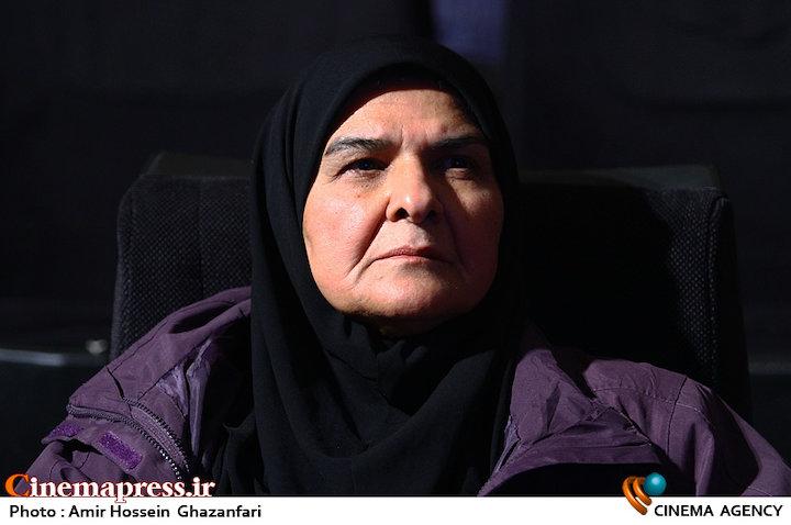 انسیه شاه حسینی در رونمایی از منشور مستند انقلاب اسلامی