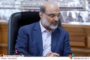 علی عسکری در دیدار رئیس مجلس و جمعی از کارگردانان