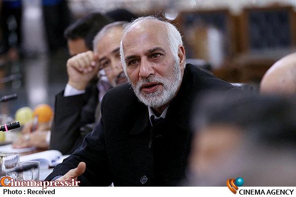 سعید سلطانی در دیدار رئیس مجلس با رئیس صداوسیما و جمعی از کارگردانان