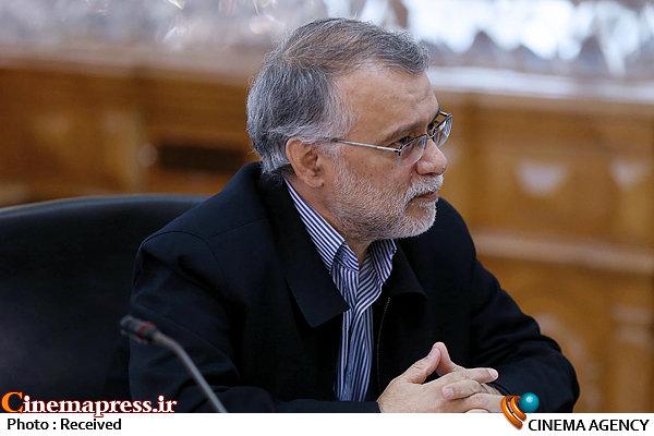 مرتضی میر باقری در دیدار رئیس مجلس با رئیس صداوسیما و جمعی از کارگردانان