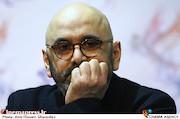 حبیب رضایی در نشست خبری فیلم سینمایی «بمب یک عاشقانه»