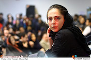 رعنا آزادی ور در نشست خبری فیلم سینمایی «چهارراه استانبول»