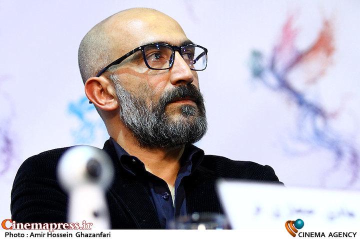 هادی حجازی فر در نشست خبری فیلم سینمایی«لاتاری»