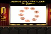 ۹ فیلم جشنواره فجر به انتخاب مردم