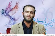 محمد شعبان در نشست خبری فیلم سینمایی «به وقت شام»