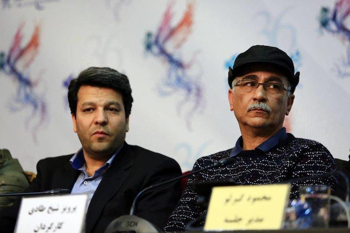 محمد خزاعی نشست خبری «امپراطور جهنم»
