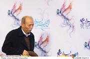 علی نصیریان در نشست خبری فیلم سینمایی«امپراطور جهنم»