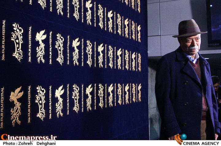 علی نصیریان در سی و ششمین جشنواره فیلم فجر