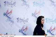 مینا ساداتی در نشست خبری فیلم سینمایی«سرو زیر آب»