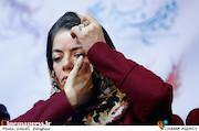 مهتاب نصیرپور در نشست خبری فیلم سینمایی«سرو زیر آب»