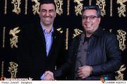 محمد حیدری و ابراهیم داروغه زاده در سی و ششمین جشنواره فیلم فجر