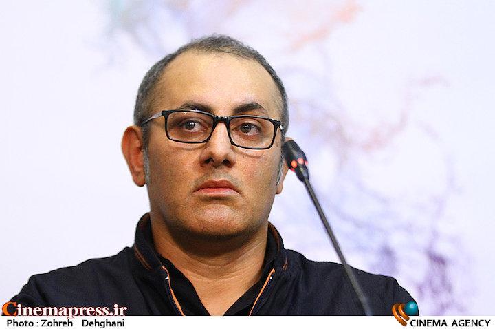 بهرام توکلی در نشست خبری فیلم سینمایی«تنگه ابوقُریب»