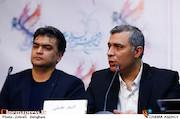 اصغر نعیمی و ساسان سالور در نشست خبری فیلم سینمایی«هایلایت»