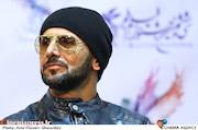 امین حیایی در نشست خبری فیلم سینمایی«دارکوب»