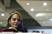مهناز افشار در نشست خبری فیلم سینمایی«دارکوب»