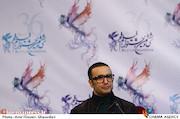 محمدرضا فروتن در اعلام نامزدهای بخش سودای سیمرغ سی و ششمین جشنواره فیلم فجر