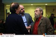 مسعود فراستی در مراسم اکران خصوصی فیلم سینمایی«آن سوی ابرها»