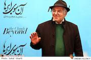 فرید سجادی حسینی در مراسم اکران خصوصی فیلم سینمایی«آن سوی ابرها»