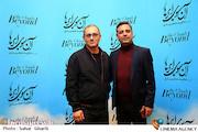 بهرام توکلی در مراسم اکران خصوصی فیلم سینمایی«آن سوی ابرها»