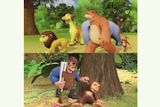 مجموعه انیمیشن «همسایگان جنگل»
