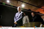 وزیر ارشاد در حاشیه بازدید از نمایشگاه دهمین جشنواره هنرهای تجسمی فجر