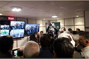 استودیوی تلویزیون در حرم امامزاده صالح تهران