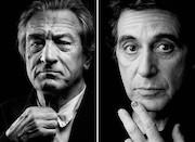 آل پاچینو و رابرت دنیرو