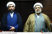 عبدالله و بصیر سلحشور در مراسم دومین سالگرد درگذشت مرحوم فرجالله سلحشور