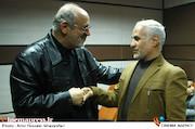 حسن عباسی و جمال شورجه در مراسم دومین سالگرد درگذشت مرحوم فرجالله سلحشور