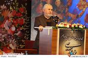 علی دارابی در مراسم آغاز ساخت سریال مفاخر ایران در شیراز