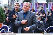 مجید رجبی معمار در مراسم هفته درختکاری با حضور اصحاب فرهنگ، هنر و رسانه