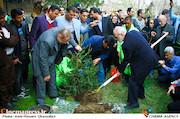 مراسم هفته درختکاری با حضور اصحاب فرهنگ، هنر و رسانه