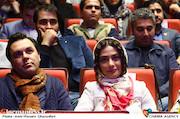 مارال فرجاد در مراسم اختتامیه دومین جشنواره فیلم و عکس راه آهن