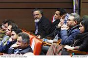 مصطفی رزاق کریمی در مراسم اختتامیه دومین جشنواره فیلم و عکس راه آهن