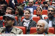 مهتاب نصیرپور در مراسم اختتامیه دومین جشنواره فیلم و عکس راه آهن