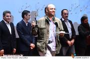 مجید حامدحق دوست در مراسم اختتامیه دومین جشنواره فیلم و عکس راه آهن