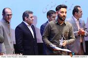 محمد بقال اصغری در مراسم اختتامیه دومین جشنواره فیلم و عکس راه آهن