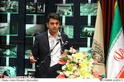 علی ضیاء در مراسم اختتامیه دومین جشنواره فیلم و عکس راه آهن