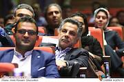 محمدحسین فرهبخش در مراسم اختتامیه دومین جشنواره فیلم و عکس راه آهن