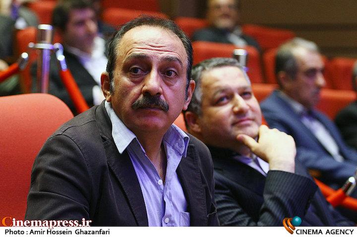ابوالفضل جلیلی در مراسم اختتامیه دومین جشنواره فیلم و عکس راه آهن