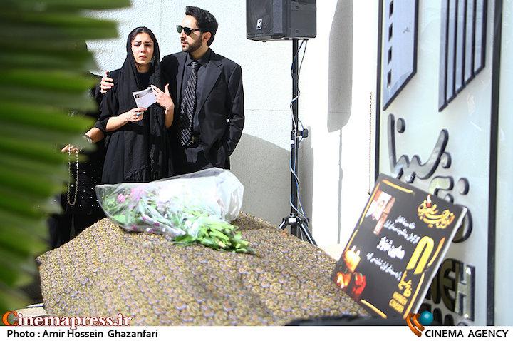 عکس/ مراسم تشییع پیکر مرحوم «همایون شهنواز»