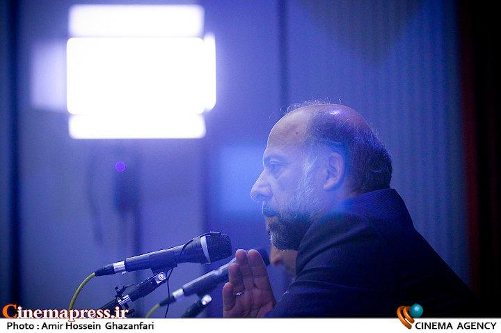 نشست خبری محمدمهدی حیدریان، رئیس سازمان سینمایی