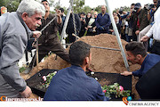 مراسم خاکسپاری «لوون هفتوان» بازیگر ارمنی سینمای ایران