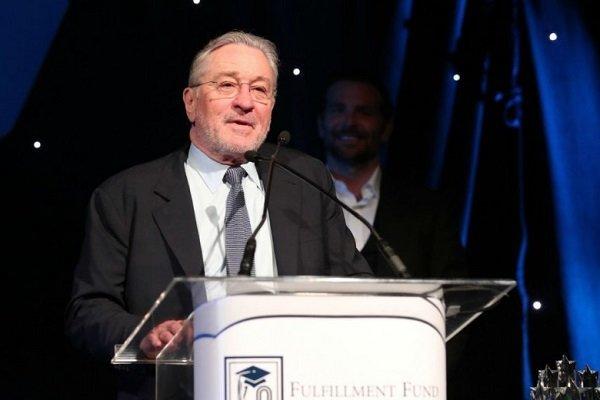 رابرت دنیرو در تجمع «صندوق کمکهای خیریه»