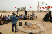 اجرای نمایش های خیابانی در مناطق راهیان نور