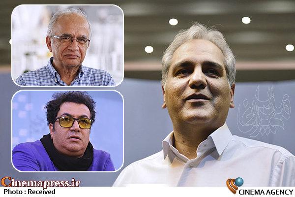 مهران مدیری- ابراهیم وحیدزاده-پیمان عباسی